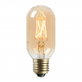LED tubular gold E27 4W